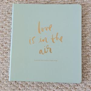 Kate Spade Wedding Planning Binder